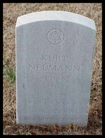 NEUMANN (VETERAN II), KURT - Pulaski County, Arkansas | KURT NEUMANN (VETERAN II) - Arkansas Gravestone Photos