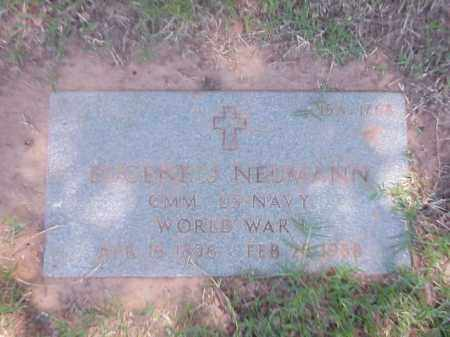 NEUMANN (VETERAN WWI), EUGENE J - Pulaski County, Arkansas   EUGENE J NEUMANN (VETERAN WWI) - Arkansas Gravestone Photos