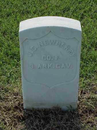 NEWBERRY (VETERAN UNION), J C - Pulaski County, Arkansas | J C NEWBERRY (VETERAN UNION) - Arkansas Gravestone Photos