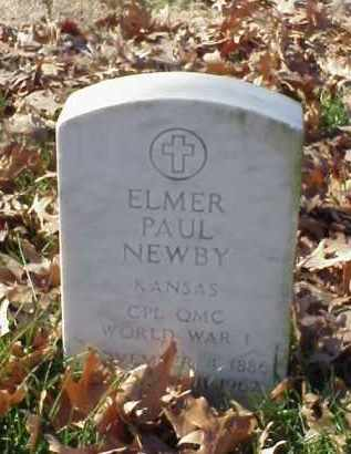 NEWBY (VETERAN WWI), ELMER PAUL - Pulaski County, Arkansas | ELMER PAUL NEWBY (VETERAN WWI) - Arkansas Gravestone Photos
