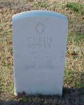 NEWBY (VETERAN WWII), CURTIS - Pulaski County, Arkansas | CURTIS NEWBY (VETERAN WWII) - Arkansas Gravestone Photos