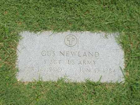 NEWLAND (VETERAN), GUS - Pulaski County, Arkansas | GUS NEWLAND (VETERAN) - Arkansas Gravestone Photos