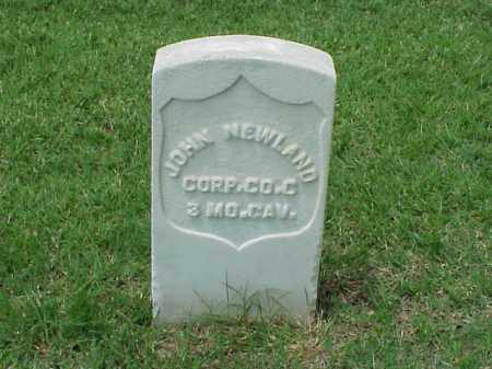 NEWLAND (VETERAN UNION), JOHN - Pulaski County, Arkansas | JOHN NEWLAND (VETERAN UNION) - Arkansas Gravestone Photos