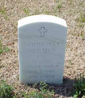 NEWMAN (VETERAN WWII), ROOSEVELT - Pulaski County, Arkansas | ROOSEVELT NEWMAN (VETERAN WWII) - Arkansas Gravestone Photos