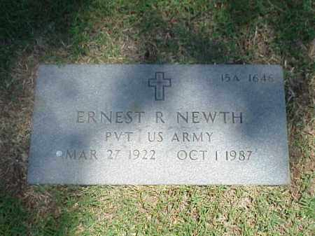 NEWTH (VETERAN), ERNEST R - Pulaski County, Arkansas | ERNEST R NEWTH (VETERAN) - Arkansas Gravestone Photos