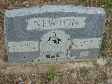 NEWTON, CHARLIE - Pulaski County, Arkansas | CHARLIE NEWTON - Arkansas Gravestone Photos