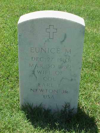 NEWTON, EUNICE M - Pulaski County, Arkansas | EUNICE M NEWTON - Arkansas Gravestone Photos