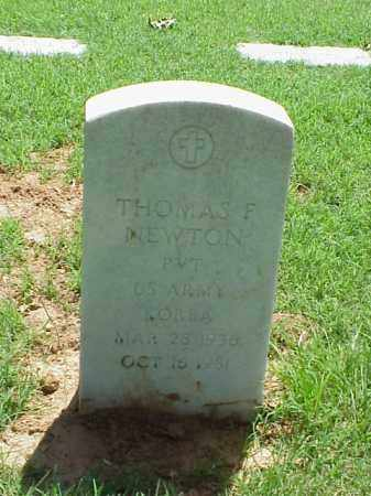 NEWTON (VETERAN KOR), THOMAS F - Pulaski County, Arkansas | THOMAS F NEWTON (VETERAN KOR) - Arkansas Gravestone Photos