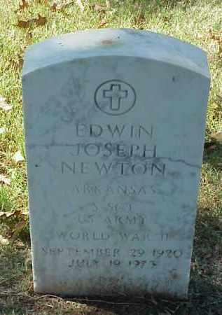 NEWTON (VETERAN WWII), EDWIN JOSEPH - Pulaski County, Arkansas | EDWIN JOSEPH NEWTON (VETERAN WWII) - Arkansas Gravestone Photos