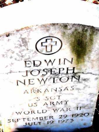 NEWTON  (VETERAN WWII ), EDWIN JOSEPH - Pulaski County, Arkansas | EDWIN JOSEPH NEWTON  (VETERAN WWII ) - Arkansas Gravestone Photos