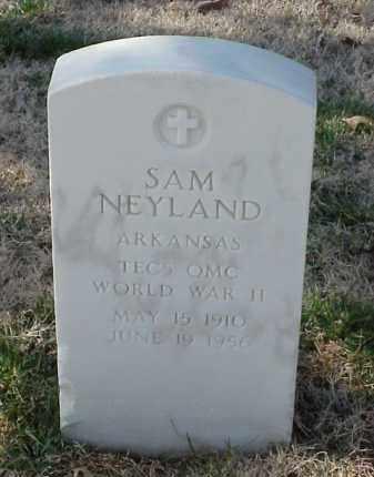 NEYLAND (VETERAN WWII), SAM - Pulaski County, Arkansas | SAM NEYLAND (VETERAN WWII) - Arkansas Gravestone Photos