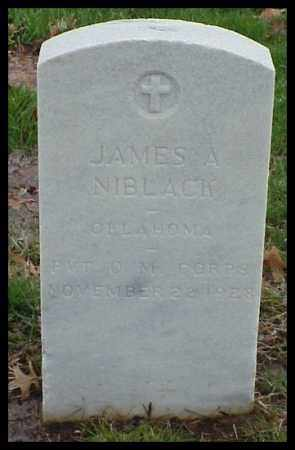 NIBLACK (VETERAN), JAMES A - Pulaski County, Arkansas | JAMES A NIBLACK (VETERAN) - Arkansas Gravestone Photos