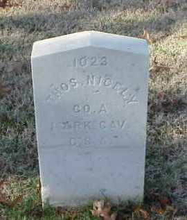 NICELY (VETERAN CSA), THOMAS - Pulaski County, Arkansas | THOMAS NICELY (VETERAN CSA) - Arkansas Gravestone Photos