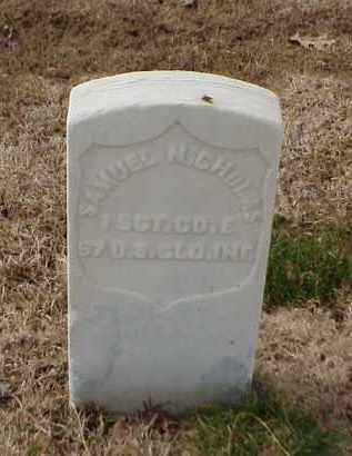 NICHOLAS (VETERAN UNION), SAMUEL - Pulaski County, Arkansas | SAMUEL NICHOLAS (VETERAN UNION) - Arkansas Gravestone Photos