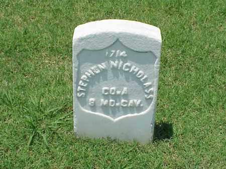 NICHOLASS (VETERAN UNION), STEPHEN - Pulaski County, Arkansas | STEPHEN NICHOLASS (VETERAN UNION) - Arkansas Gravestone Photos