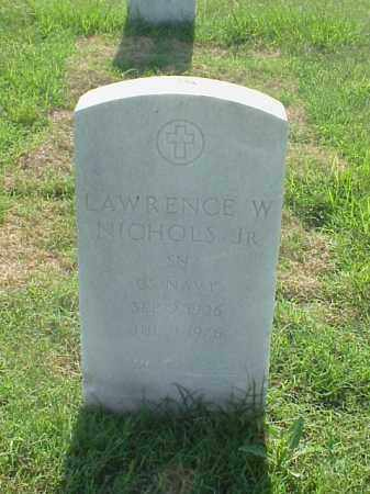 NICHOLS, JR (VETERAN KOR), LAWRENCE W - Pulaski County, Arkansas | LAWRENCE W NICHOLS, JR (VETERAN KOR) - Arkansas Gravestone Photos