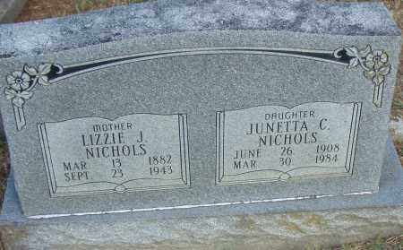 NICHOLS, JUNETTA  C - Pulaski County, Arkansas | JUNETTA  C NICHOLS - Arkansas Gravestone Photos