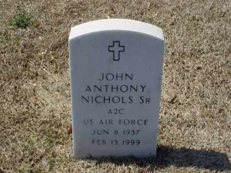 NICHOLS, SR (VETERAN), JOHN ANTHONY - Pulaski County, Arkansas | JOHN ANTHONY NICHOLS, SR (VETERAN) - Arkansas Gravestone Photos