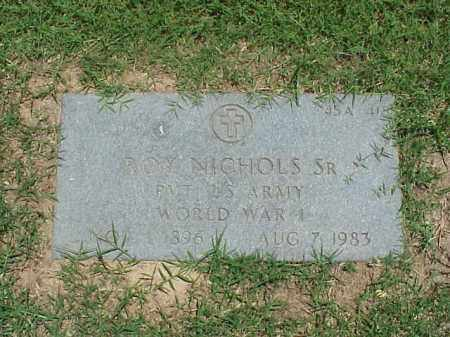 NICHOLS, SR (VETERAN WWI), ROY - Pulaski County, Arkansas | ROY NICHOLS, SR (VETERAN WWI) - Arkansas Gravestone Photos
