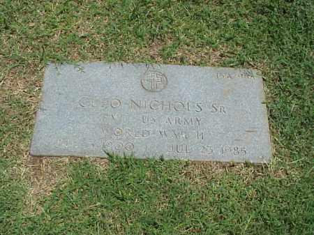 NICHOLS, SR (VETERAN WWII), CLEO - Pulaski County, Arkansas | CLEO NICHOLS, SR (VETERAN WWII) - Arkansas Gravestone Photos