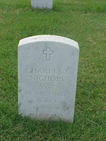 NICHOLS (VETERAN 2 WARS), CHARLES E - Pulaski County, Arkansas | CHARLES E NICHOLS (VETERAN 2 WARS) - Arkansas Gravestone Photos