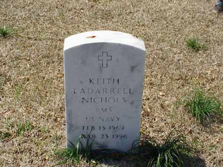 NICHOLS (VETERAN), KEITH LADARRELL - Pulaski County, Arkansas | KEITH LADARRELL NICHOLS (VETERAN) - Arkansas Gravestone Photos