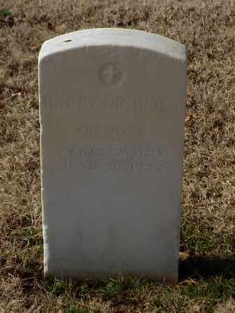 NICHOLS (VETERAN UNION), HARRY - Pulaski County, Arkansas | HARRY NICHOLS (VETERAN UNION) - Arkansas Gravestone Photos