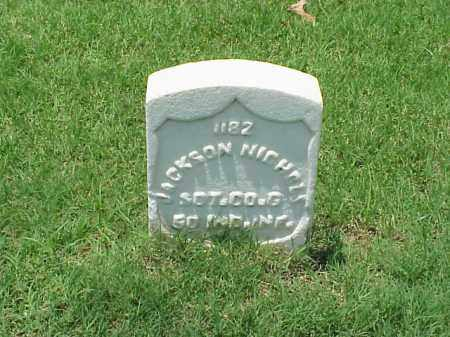 NICHOLS (VETERAN UNION), JACKSON - Pulaski County, Arkansas | JACKSON NICHOLS (VETERAN UNION) - Arkansas Gravestone Photos