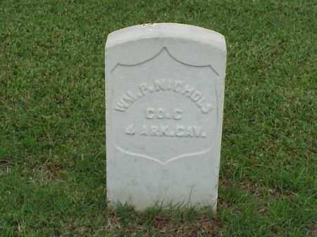 NICHOLS (VETERAN UNION), WILLIAM P - Pulaski County, Arkansas | WILLIAM P NICHOLS (VETERAN UNION) - Arkansas Gravestone Photos