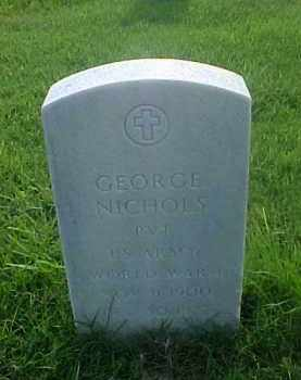 NICHOLS (VETERAN WWI), GEORGE - Pulaski County, Arkansas | GEORGE NICHOLS (VETERAN WWI) - Arkansas Gravestone Photos
