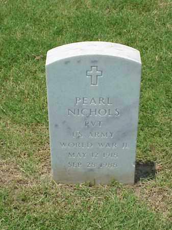 NICHOLS (VETERAN WWII), PEARL - Pulaski County, Arkansas | PEARL NICHOLS (VETERAN WWII) - Arkansas Gravestone Photos