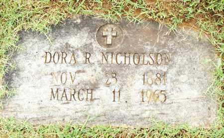 NICHOLSON, DORA - Pulaski County, Arkansas | DORA NICHOLSON - Arkansas Gravestone Photos