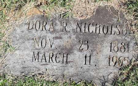 NICHOLSON, DORA R - Pulaski County, Arkansas | DORA R NICHOLSON - Arkansas Gravestone Photos