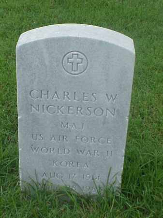 NICKERSON (VETERAN 2 WARS), CHARLES W - Pulaski County, Arkansas | CHARLES W NICKERSON (VETERAN 2 WARS) - Arkansas Gravestone Photos