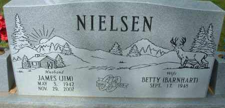 NIELSEN, JAMES - Pulaski County, Arkansas | JAMES NIELSEN - Arkansas Gravestone Photos