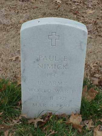 NIMICK (VETERAN WWII), PAUL E - Pulaski County, Arkansas | PAUL E NIMICK (VETERAN WWII) - Arkansas Gravestone Photos