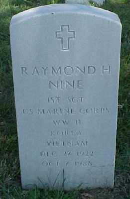 NINE (VETERAN 3 WARS), RAYMOND H - Pulaski County, Arkansas | RAYMOND H NINE (VETERAN 3 WARS) - Arkansas Gravestone Photos