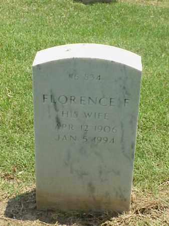 NISBETT, FLORENCE F - Pulaski County, Arkansas | FLORENCE F NISBETT - Arkansas Gravestone Photos