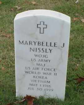 NISSLY (VETERAN 3 WARS), MARYBELLE J - Pulaski County, Arkansas | MARYBELLE J NISSLY (VETERAN 3 WARS) - Arkansas Gravestone Photos