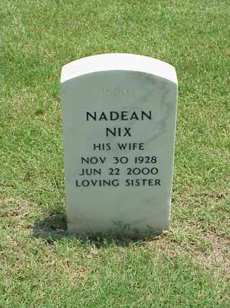 NIX, NADEAN - Pulaski County, Arkansas | NADEAN NIX - Arkansas Gravestone Photos