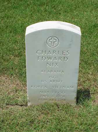 NIX (VETERAN 2 WARS), CHARLES EDWARD - Pulaski County, Arkansas | CHARLES EDWARD NIX (VETERAN 2 WARS) - Arkansas Gravestone Photos