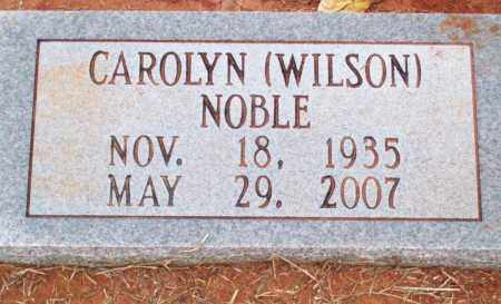 WILSON NOBLE, CAROLYN - Pulaski County, Arkansas | CAROLYN WILSON NOBLE - Arkansas Gravestone Photos