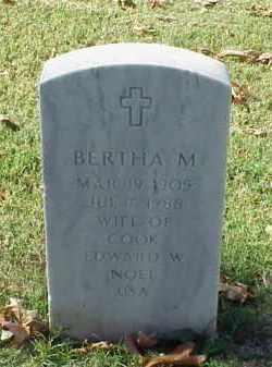 NOEL, BERTHA M - Pulaski County, Arkansas   BERTHA M NOEL - Arkansas Gravestone Photos