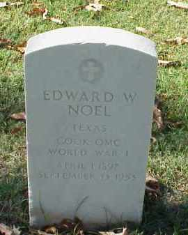 NOEL (VETERAN WWI), EDWARD W - Pulaski County, Arkansas | EDWARD W NOEL (VETERAN WWI) - Arkansas Gravestone Photos