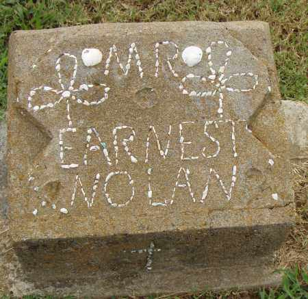 NOLAN, EARNEST - Pulaski County, Arkansas | EARNEST NOLAN - Arkansas Gravestone Photos