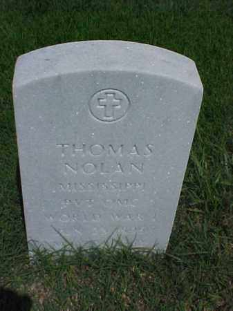 NOLAN (VETERAN WWI), THOMAS - Pulaski County, Arkansas | THOMAS NOLAN (VETERAN WWI) - Arkansas Gravestone Photos