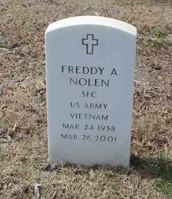 NOLEN  (VETERAN VIET), FREDDY A - Pulaski County, Arkansas | FREDDY A NOLEN  (VETERAN VIET) - Arkansas Gravestone Photos