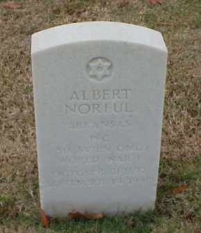 NORFUL (VETERAN WWI), ALBERT - Pulaski County, Arkansas | ALBERT NORFUL (VETERAN WWI) - Arkansas Gravestone Photos