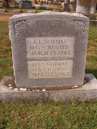 NORMAN, BESS - Pulaski County, Arkansas | BESS NORMAN - Arkansas Gravestone Photos