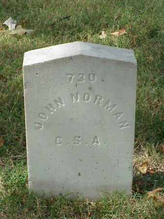 NORMAN (VETERAN CSA), JOHN - Pulaski County, Arkansas | JOHN NORMAN (VETERAN CSA) - Arkansas Gravestone Photos